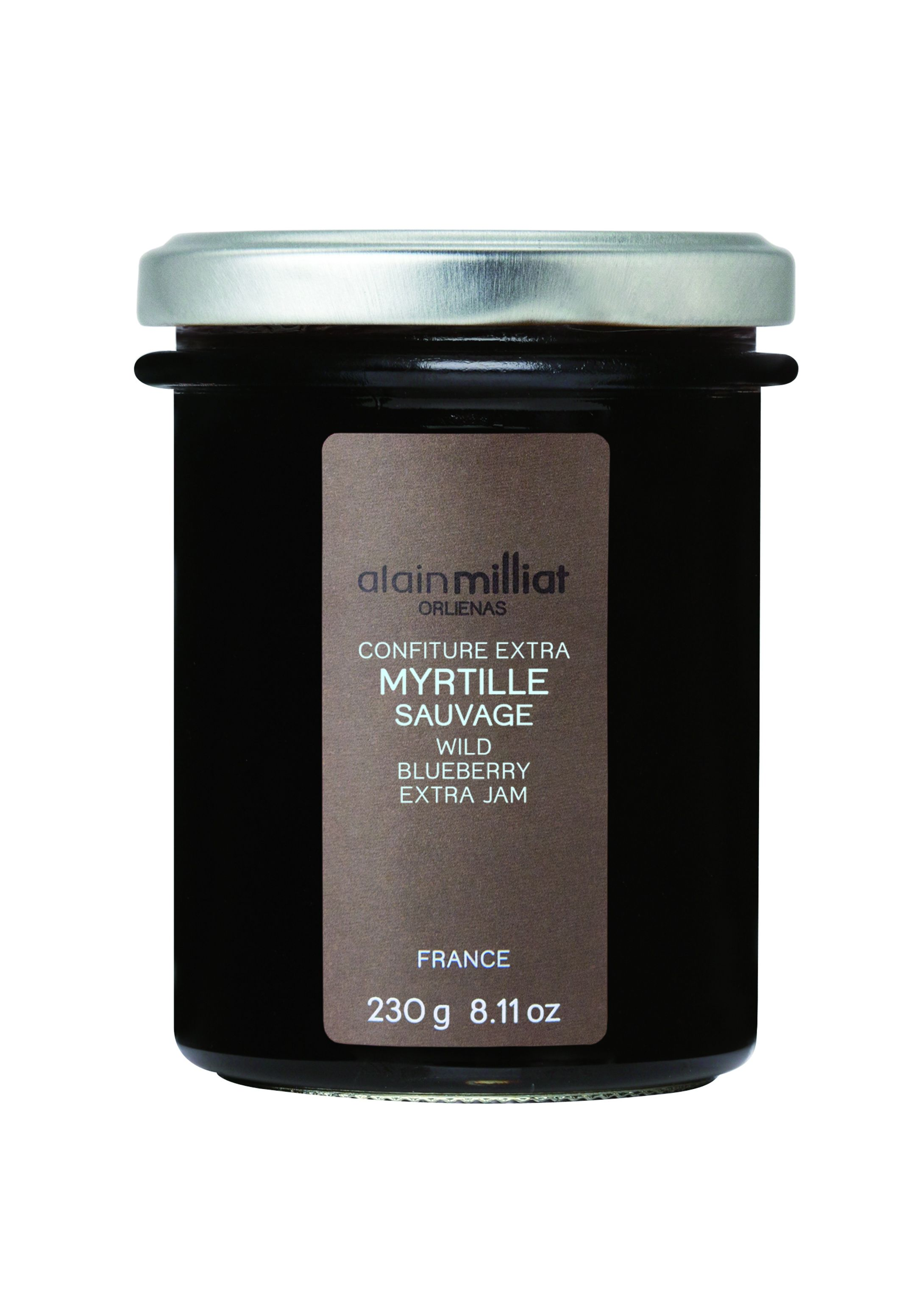 Confiture myrtille 230gr Alain Milliat