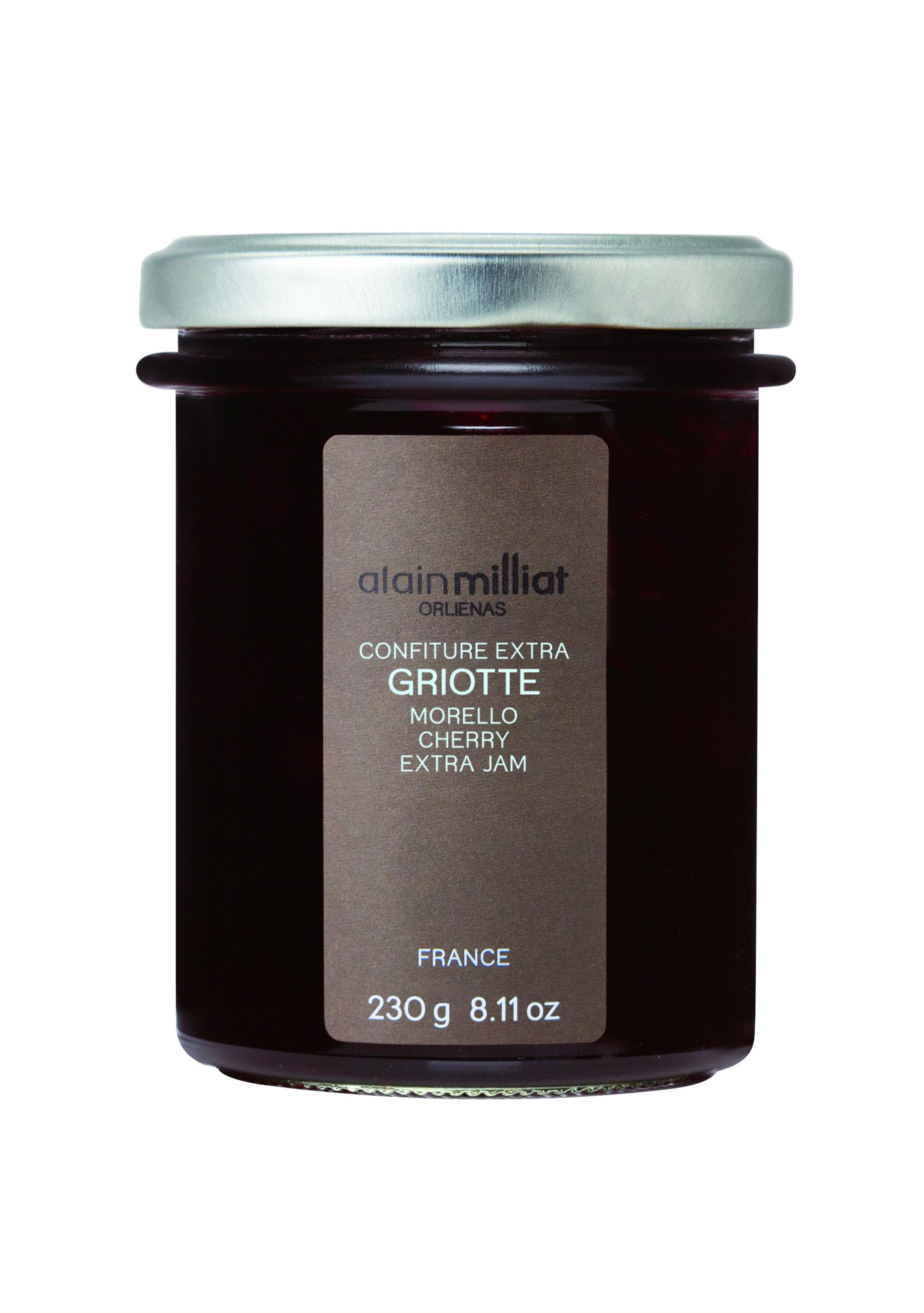 Confiture griotte 230gr Alain Milliat