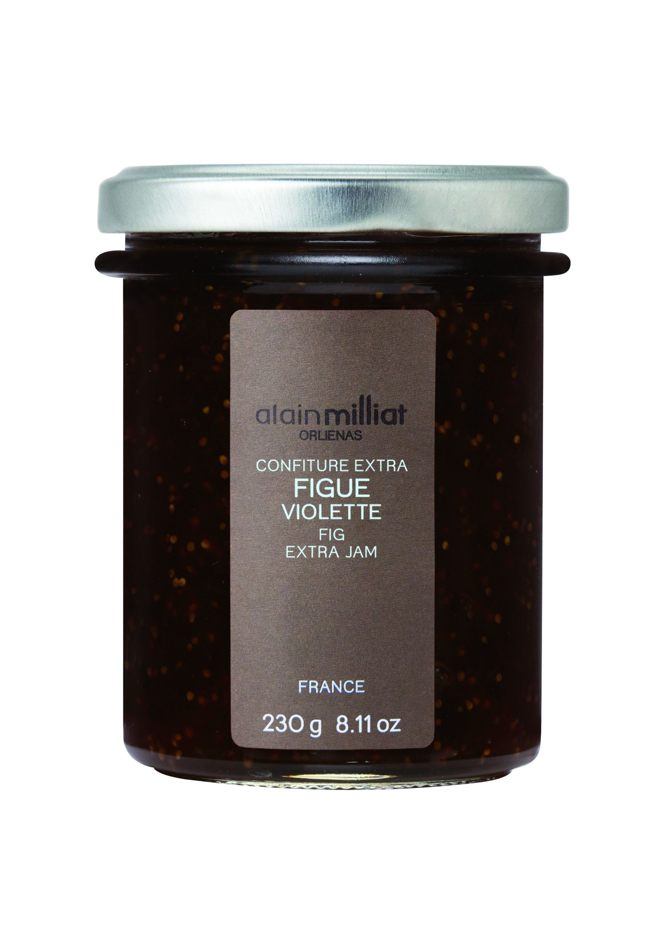 Confiture de figues violettes 230gr Alain Milliat