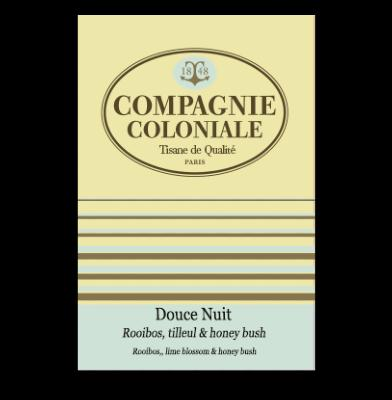 Infusion Douce nuit boîte 25 sachets Compagnie Coloniale