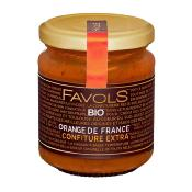 Confiture d'oranges bio 220gr Maison Favols