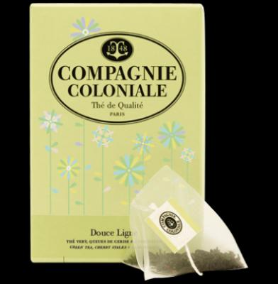 Infusions Douce Ligne Compagnie Coloniale Boîte 25 sachets
